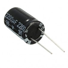 10x Конденсатор електролітичний алюмінієвий 2200мкФ 35В 105С