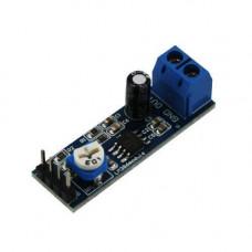 Модуль Аудіо підсилювач LM386 0.3-1Вт 5-12В Arduino