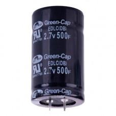 Іоністор суперконденсатор 500Ф 2.7 35х60мм