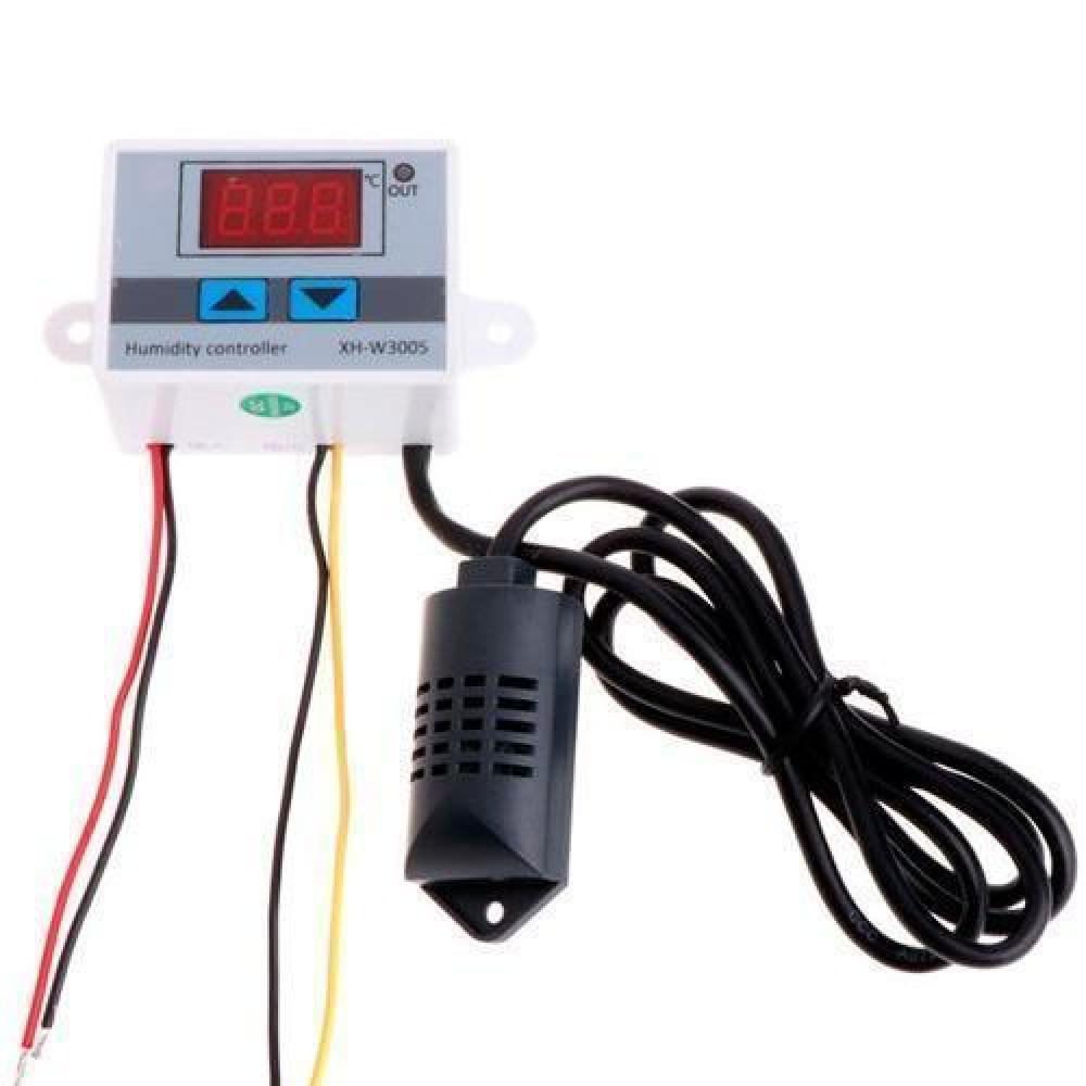 Регулятор вологості гідростат реле XH-W3005 0-99% 12В DC 120Вт