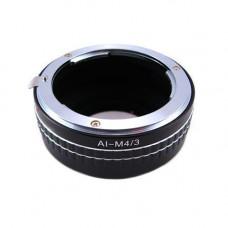 Адаптер адаптер Nikon AI - Micro 4/3 M4/3 Ulata