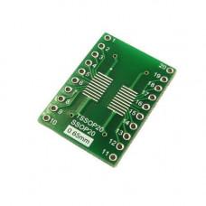SOP20 SO20 SOIC20 - DIP20 перехідник адаптер