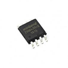 Чіп W25Q64 W25Q64JVSIQ SOP8, 64Мб SPI Flash