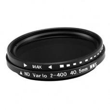 ND фільтр змінної щільності ND2-ND400, 40.5 мм