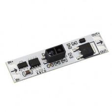 Безконтактний інфрачервоний вимикач LED стрічок диммер 6в1 5-24В 5А WA-4032A