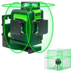 Лазерний рівень нівелір 12 ліній, 3 площині 360град, АКБ Huepar 903CG