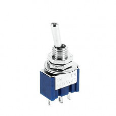 Перемикач, тумблер, вимикач живлення MTS-103 250В 3А ON-OFF-ON