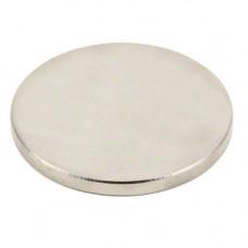 Магніт неодимовий дисковий 50х5мм N35 сильний