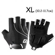 Перчатки велосипедные без пальцев гелиевые XL, 10-11.7см, RockBros S107