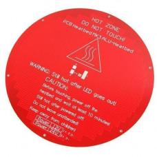 Нагрівальна платформа КРУГЛА стіл MK3 ALU 12/24В дельта 3D-принтера