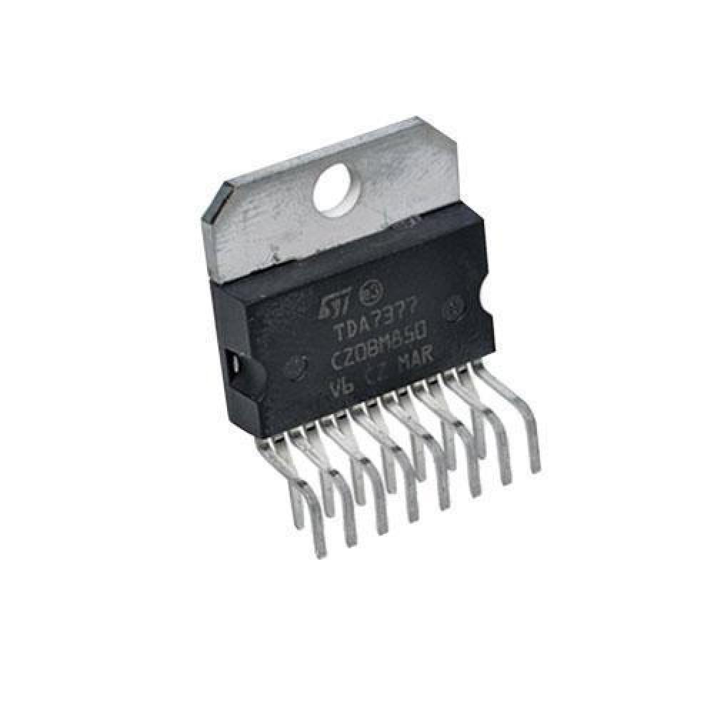 Чіп TDA7377 ZIP15, Підсилювач низької частоти УНЧ 4-канальний