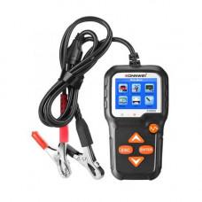 Тестер автомобільного акумулятора, цифровий, 6-12В, Konnwei KW650