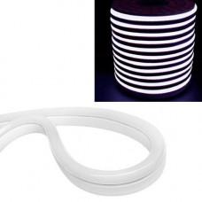 Гнучкий світлодіодний неон SMD 2835 120/м IP68, 1м білий 220В