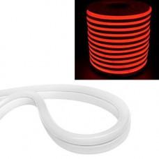 Гнучкий світлодіодний неон SMD 2835 120/м IP68, 1м червоний 12В