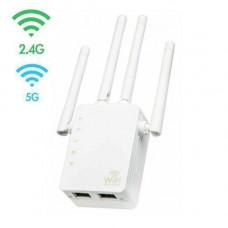 Безпровідний Wi-Fi репітер сигналу, 2.4 + 5ГГц, 20 dBi, AC1200