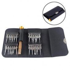 Викрутка з 24 насадками для ремонту телефонів, набір викруток в гаманці