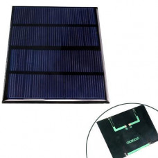 Сонячна панель батарея 12В 1.5 Вт міні 115х85мм