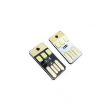 USB мікро LED світильник, ліхтарик, ліхтар, 0.2 Вт