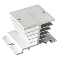 Радіатор охолодження для твердотільного реле SSR 10 25 40A на DIN-рейку