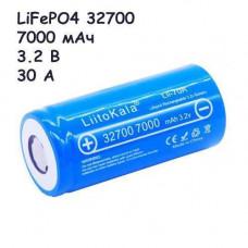 Акумулятор 32700 высокотоковый LiFePO4 3.2 В 7000магод 30А Liitokala Lii-70A