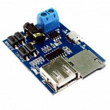 USB MicroSD TF MP3 модуль програвач 3.7-5.5