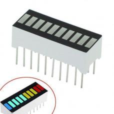 10-сегментний індикатор завантаження Прогрес бар різнобарвний Arduino
