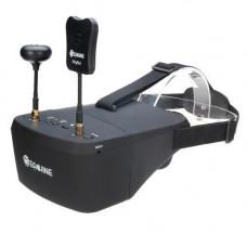 FPV відео шолом окуляри DVR Diversity 5.8 G 40CH RaceBand 5 Eachine EV800D