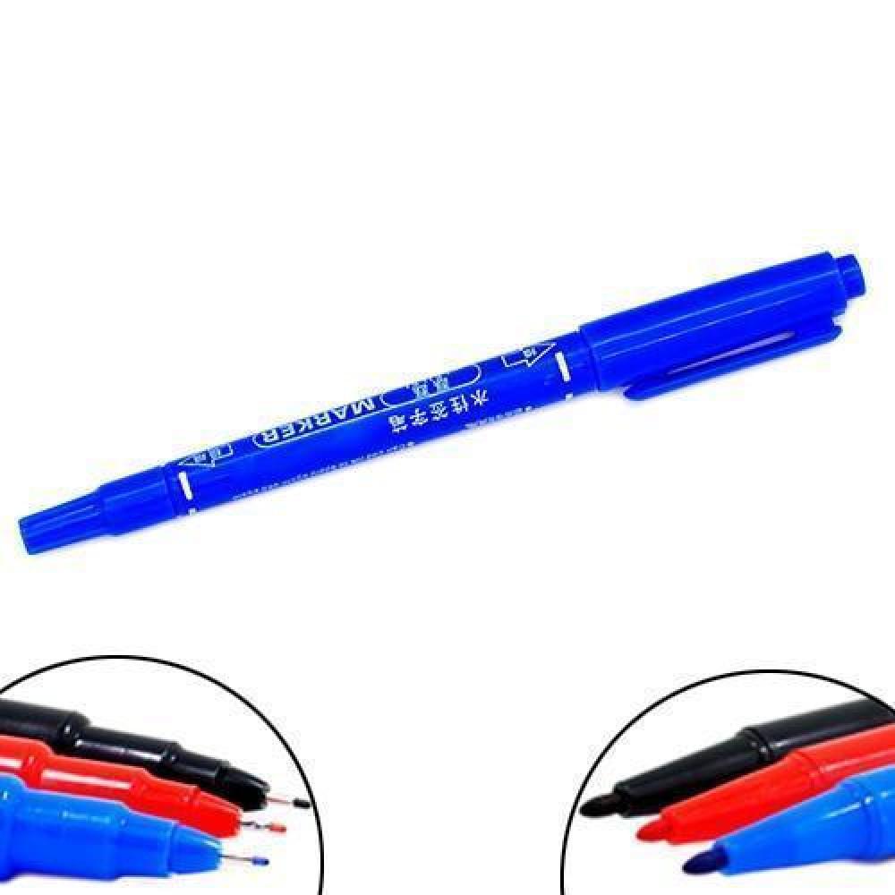 Маркер перманентний двосторонній 0.5+1мм для друкованих плат, кольору