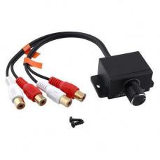Виносний регулятор аудіо басу для підсилювача 2 RCA - 2 RCA