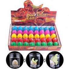 Діно інкубатор 40шт 4.5x3.5см растишка яйце динозавра зростаючий динозавр