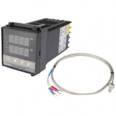 ПІД-терморегулятор REX-C100 +термопара, релейний вихід