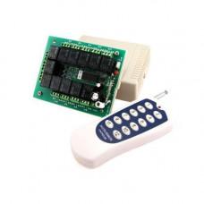 12-канальний бездротовий реле 12В, пульт, Arduino