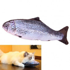 М'яка іграшка риба Форель 40см для кішок кота з котячою м'ятою