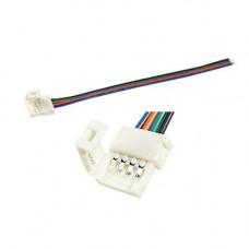 Конектор вивідний для 10мм LED стрічки SMD 5050 RGB