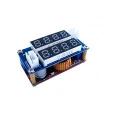 Понижуючий перетворювач напруги DC-DC + амперметр + вольтметр