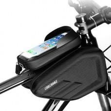 Нарамна сумка для велосипеда велосумка CoolChange водонепроникна 6.2