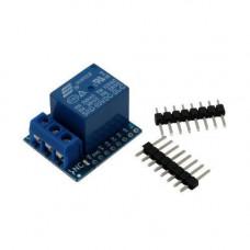 Модуль реле 1-канальний 5В для Wemos D1, D1 mini