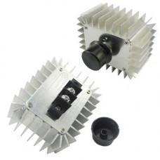 Регулятор напруги AC 220В 5000Вт термостат диммер потужності