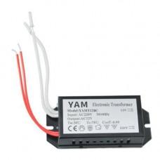 Трансформатор електронний 220В-12В 120Вт для галогенних ламп YAMT120C