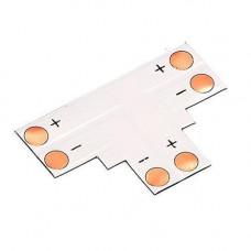 Конектор T-подібний для світлодіодних стрічок 8мм SMD 3528 2835