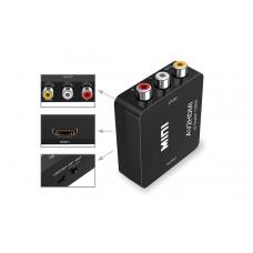 RCA AV - HDMI конвертер-перетворювач сигналу відео, аудіо, FullHD