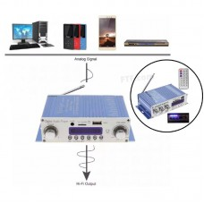 Підсилювач звуку, Hi-Fi підсилювач в авто HY-502, USB SD DVD CD FM MP3 плеєр