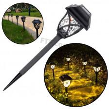 Садовий ліхтар під старовину, на ніжці, ліхтар на сонячній батареї, вуличний світильник в сад, ліхтар на вулицю