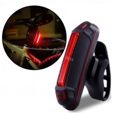Габарит на велосипед FXH-0105, велосипедний ліхтар задній, 500mAh зарядка від USB, вологозахисний, чорний