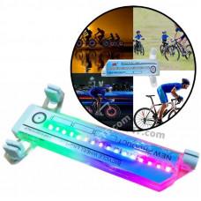 Підсвічування велосипеда на спиці, світлодіодне підсвічування колеса велосипеда, 32 візерунка