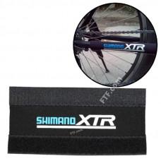Захист пера велосипеда, ланцюга, рами, захист пера від ударів ланцюга на липучці Shimano