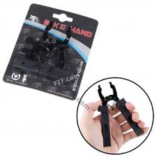 Ключ Bike Hand зняття і установки замка ланцюга + лопатки бортувальні, чорні YC-335ST, знімач замка ланцюга
