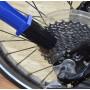 Щітка для чищення ланцюга, зірок, скребок для чищення касети, набір з 2 щіток і скребка для чищення велосипедного ланцюга, зірок, касети