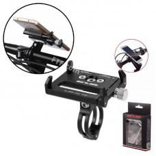 Кріплення на кермо GUB-G85, кронштейн для смартфона, тримач для телефону на велосипед, кріплення на електросамокат, мотоцикл