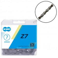 Ланцюг велосипедний KMC Z7, 7 швидкостей 116 ланок
